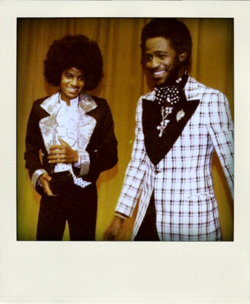 sprbd:  Michael Jackson & Al Green  [look of the hour]