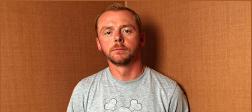 "22 Funny Movie Tweeters 7) Simon Pegg The Tweeter: @simonpegg Actor/writer/dog owner/winner of 50m flat race 1977-1981 The multi-talented actor/comedian/writer occasionally uses the twit-machine to drum up awareness for his movies, as well as using it as an outlet for some short, sweet, and seriously funny 140-character observations about the minutia of everyday life (often involving his dog, Minnie). Sample Tweet: ""Got my invite for the royal wedding. I'm quite near the back.!!!! #snubbed""""Damn it, was going to go to bed but @nickjfrost alerted me to Predator 2 on E4+1. Might have to stay up at least until I see Paxton's spine.""""Someone just used the word 'snowmageddon' on BBC London News. It's like The Day Today is coming true.""Typical Retweet: ""@nathanfillion: Happy birthday to @nickjfrost, who taught the world it's alright to fart if someone laughs. #yougotredonyou"""