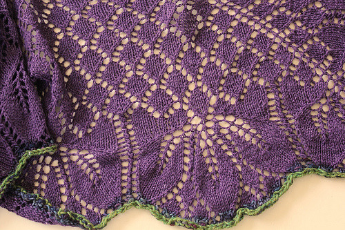 Orchid Thief Shawlette (by luckyknitter)
