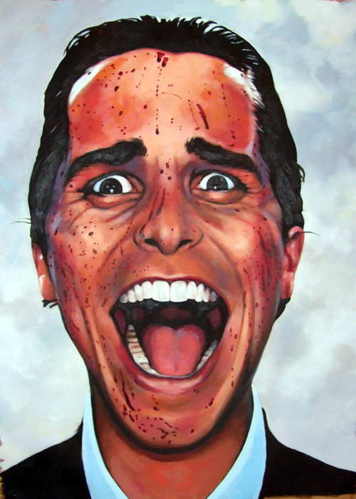 thomassaliot:  Psycho Oil/canvas