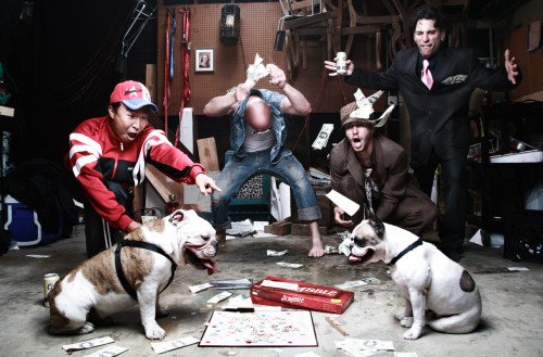 This may have to replace my 'dogs playing poker' painting I have hanging up.
