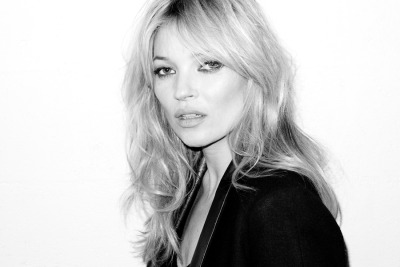 Beautiful. Kate Moss photographed by Terry Richardson in Paris recently.