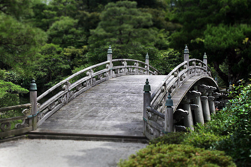 indigenousdialogues:  Bridge at the Imperial Palace (by ' Toshio ')