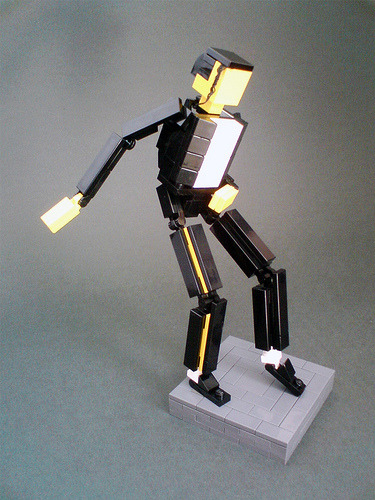 legos:  Michael Jackson doing his thing.