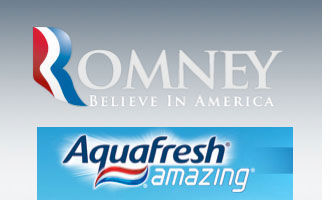 "Romney: ""Believe in Aquafresh"""