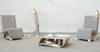 Remi Van Oers, Book Nerd's Dream Furniture