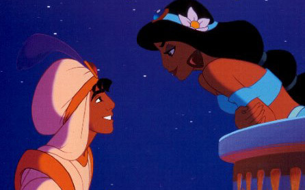 awwww. totally watching Aladdin right now