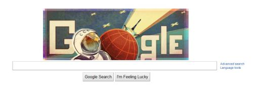 Today's Google doodle is awesome.
