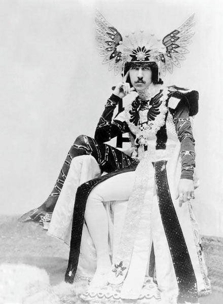 "immoraltales:  The Dancing Marquess Henry Cyril Paget, 5th Marquess of Anglesey (16 June 1875 -14 March 1905), styled Lord Paget until 1880 and Earl of Uxbridge between 1880 and 1898, was a British Peer who was notable during his short life for squandering his inheritance on a lavish social life and accumulating massive debts. Regarded as the ""black sheep"" of the family, he was nicknamed ""the dancing marquess"" for his habit of performing ""sinuous, sexy, snake-like dances"". wikipedia  This is the kind of thing I think about whenever some new pop star is trying to be all ""shock me shock me shock me with that deviant behavior."" History FTW."