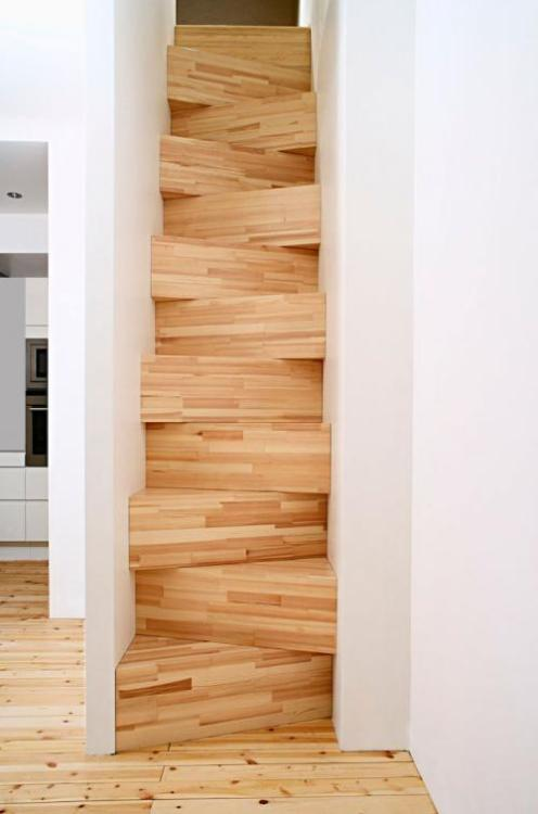 Taf Architects made this stairway and some other cool designs for home interiors http://www.tafarkitektkontor.se/