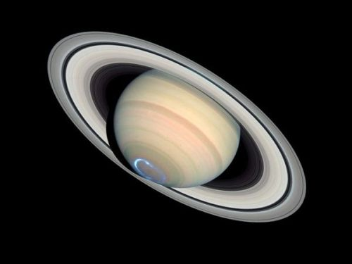 Aurora on Saturn.