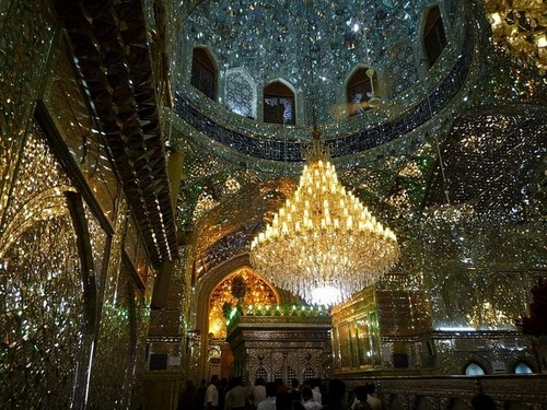 thoughtswhispersand:   The King of Light Mosque in Iran.   gorgaasssszzz