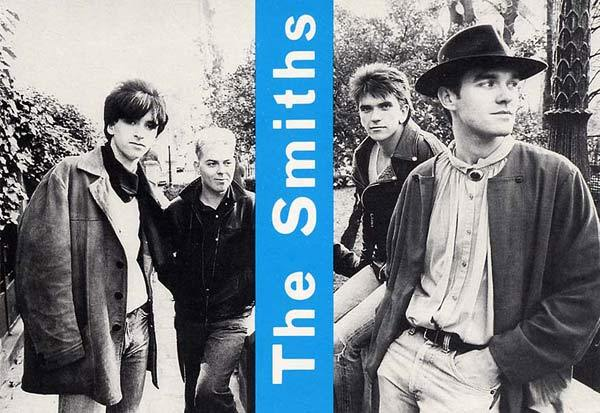 The Smiths posing in the streets of Montmartre, Paris, France. Photo: Paul Slattery, 12/1984 Scanned from my personal archives, Olivier Daaram 04/2011
