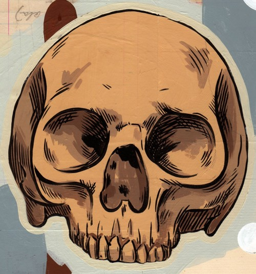 Skull 1 by Chris Zahner