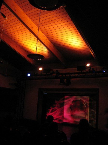 Walk-in lighting, small sized Cabaret Eat Me, 2007