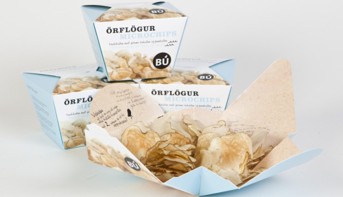 Snack Time: Clever Packaging Turns Your Potato-Chip Bag Into a Bowl  Finally! What took them so long to think of this?? This may be a solution to Lonely Cheetos everywhere. Take note.