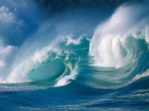 Powerful Waves  By Jack luke