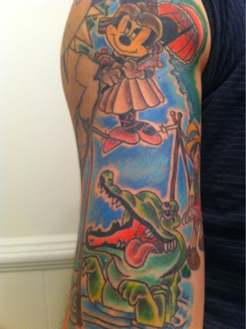 My Haunted Mansion piece is almost healed..