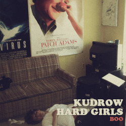 "Also up for pre-order is the HARD GIRLS/KUDROW split 7"", ""Boo""!!! HARD GIRLS are from San Jose, California and KUDROW is from Brooklyn, New York. There will be 400 of these records pressed, and there will NOT be another repress! Pre-order the record HERE."