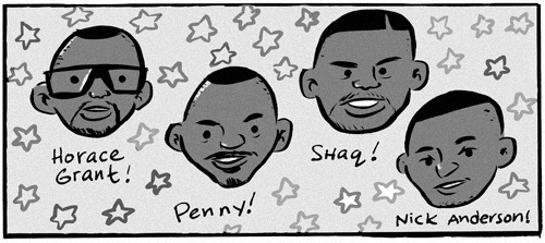 Since it's almost the NBA Playoffs I drew this new WOMP comic about my horrible days riding to middle school on a cheese bus. Yes, those two things go together. You'll SEE!