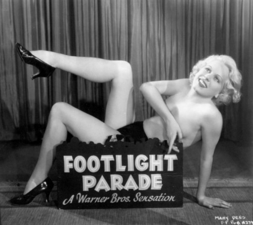 Mary Dees - Promotional photo for Footlight Parade (1933)