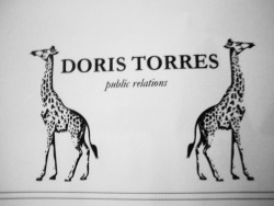 Brand Identity for Doris Torres a public relations specialist. Created logo, letterhead, and business card.