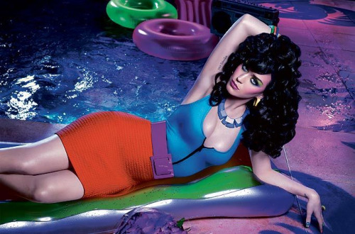 California gurl Katy Perry shot by David LaChapelle for GHD's latest ad campaign. Dollar Dollar.  Source: GHD