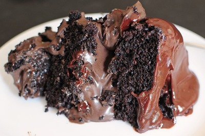 gastrogirl:  triple chocolate torte.