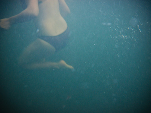 Underwater somewhere.