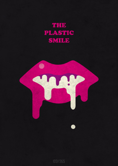 INSPIRATION: The Plastic Smile - A band I'm friends with for more than a decade now. Cool dudes. Yay! You can buy this print and all others from The All Day Everyday Project right here!