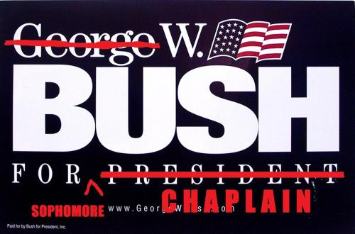 @WhillBush for 2013 Chaplain