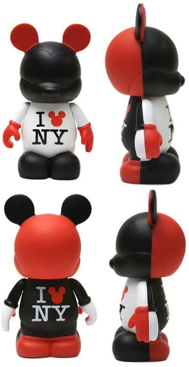 A new 9-inch figure will be released at the Disney Store in Times Square, April 9th, 2011. Designed by Marcella Lau, this figure has an edition size of 1,540 and a retail of $49.95. It will be individually numbered and found only at the Times Square location.