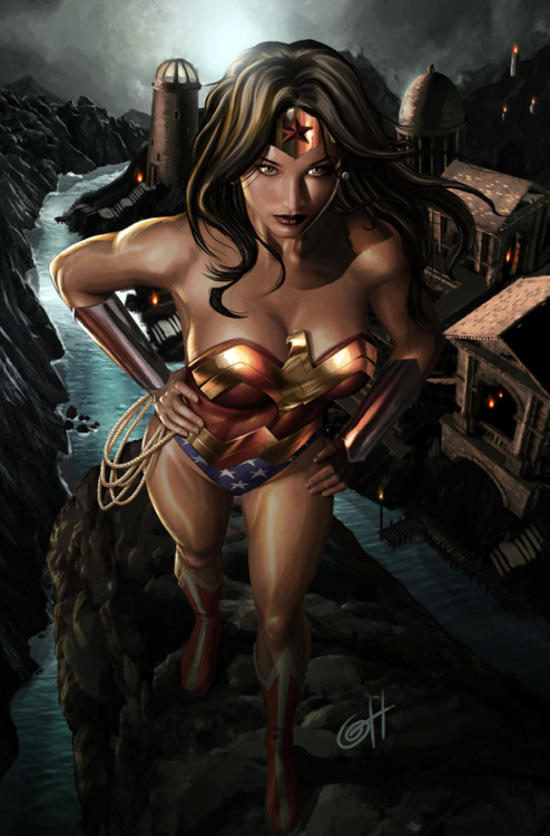 greg horn wonder woman