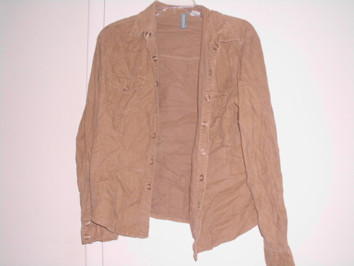 Canyon River Blues light brown jacket. Size M. $10/trade.