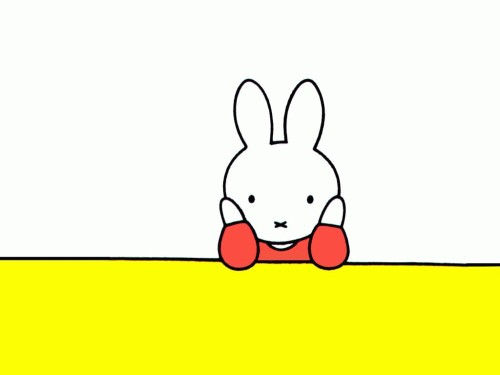 une-reverie:  Miffy.