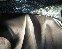 A very vague sneak-peak of an evening wear assignment I'm working on…