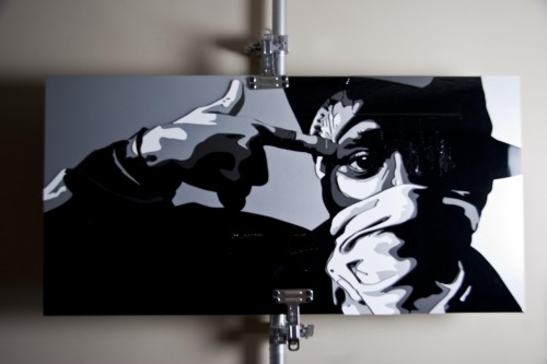 Taken from the Mos Def New Danger album artwork this 3D plexi glass peice is created by the artist Adnan Elladen wouldnt mind in my yard somewhere. #messy #mosdef #prettyflaco #dante #hiphop #painting #art #canvas