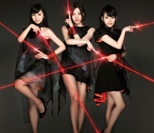 "perfume releases their album covers for their new double a side single ""lazer beam / kasuka na kaori"". they look amazingg*0*"
