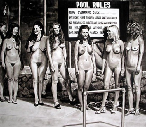 David Lyle. Pool Rules.