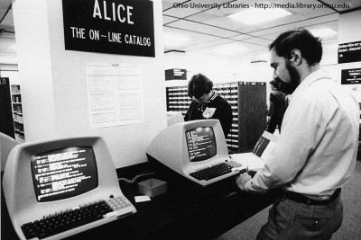 amaki09:  Ohio University's Alden Library Alice Catalog, 1983 (via Ohio University Libraries)