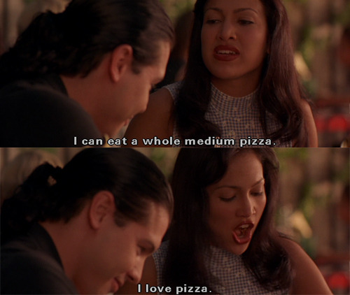 ceemydreams:  Selena (1997) Pizza <3