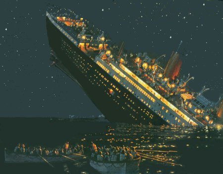 99 years ago on April 14th, 1912, Titanic hit an iceberg at 11:40 pm.