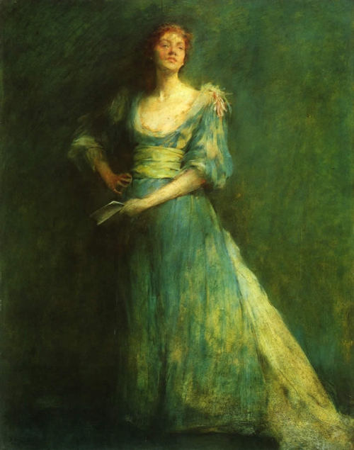 Comedia by Thomas Dewing