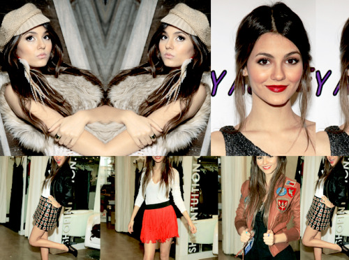 Fashion Inspirations-Victoria Justice via thefirekites: