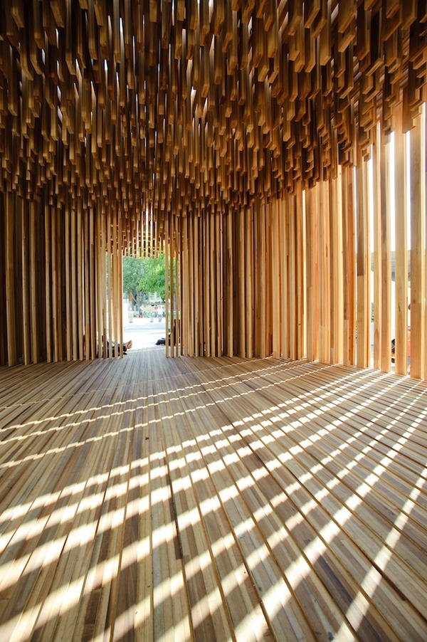 remash:  wood pavillion ~ graham carlow photography