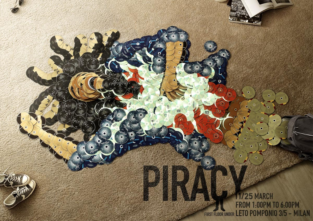 (via First Floor Under Magazine: Piracy, Bob Marley | Ads of the World™)