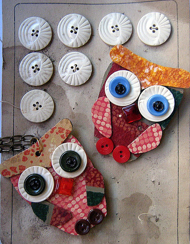 Buttony Ollie Owls (by Betty Jo Designs)