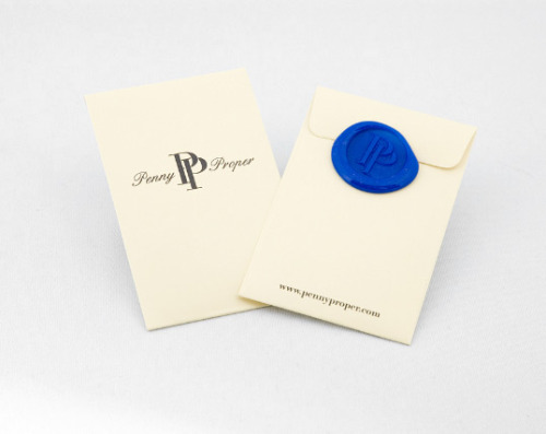 via lovelypackage.com penny proper packaging.