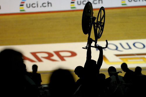 World Cup Track Cycling - Manchester 2009 (by johnthescone)
