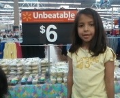 Not a people of Walmart candid. My sweety turned 6 recently and Walmart had the right size Snow White costume for her princess party.